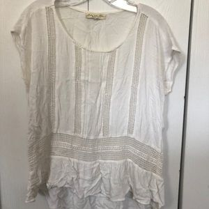 Anthropologie Staring at Stars blouse size M